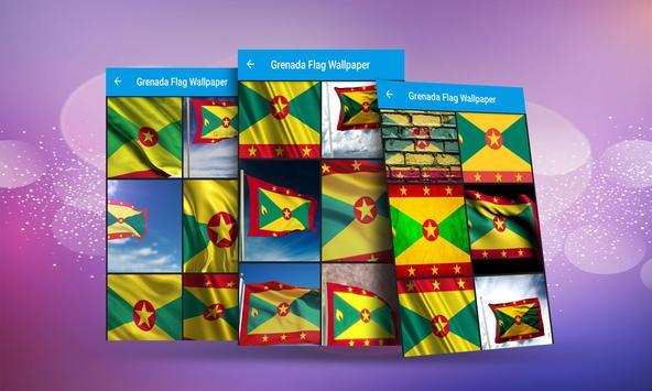 Grenada Flag Wallpaper apk screenshot