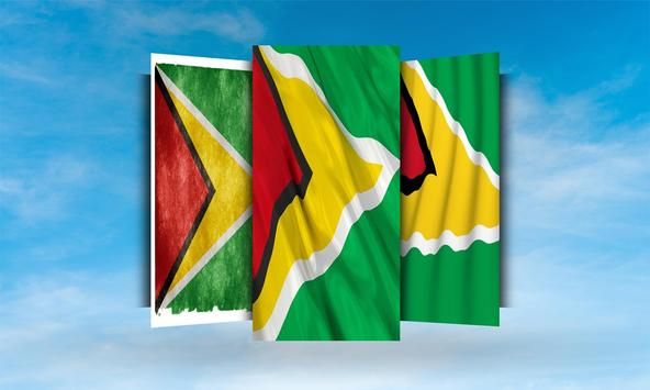 Guyana Flag Wallpaper apk screenshot