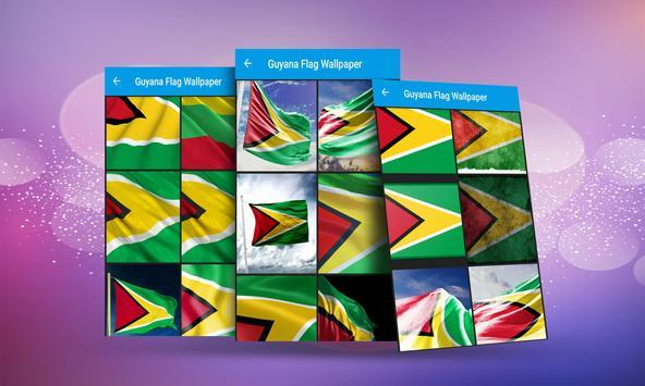 Guyana Flag Wallpaper screenshot 2