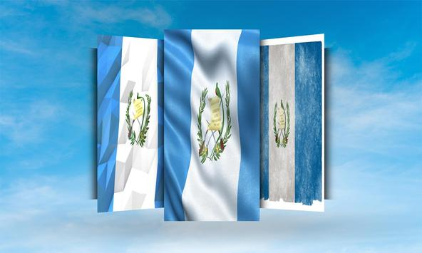 Guatemala Flag Wallpaper apk screenshot