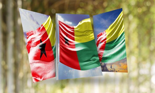 Guinea Flag Wallpaper poster
