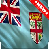Fiji Flag Wallpaper icon