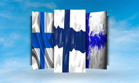 Finland Flag Wallpaper apk screenshot