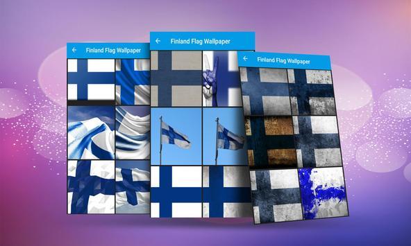 Finland Flag Wallpaper screenshot 2