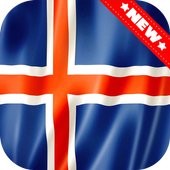 Iceland Flag Wallpaper icon