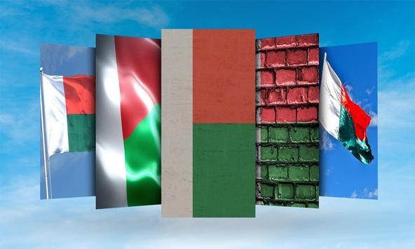 Madagascar Flag Wallpaper screenshot 1