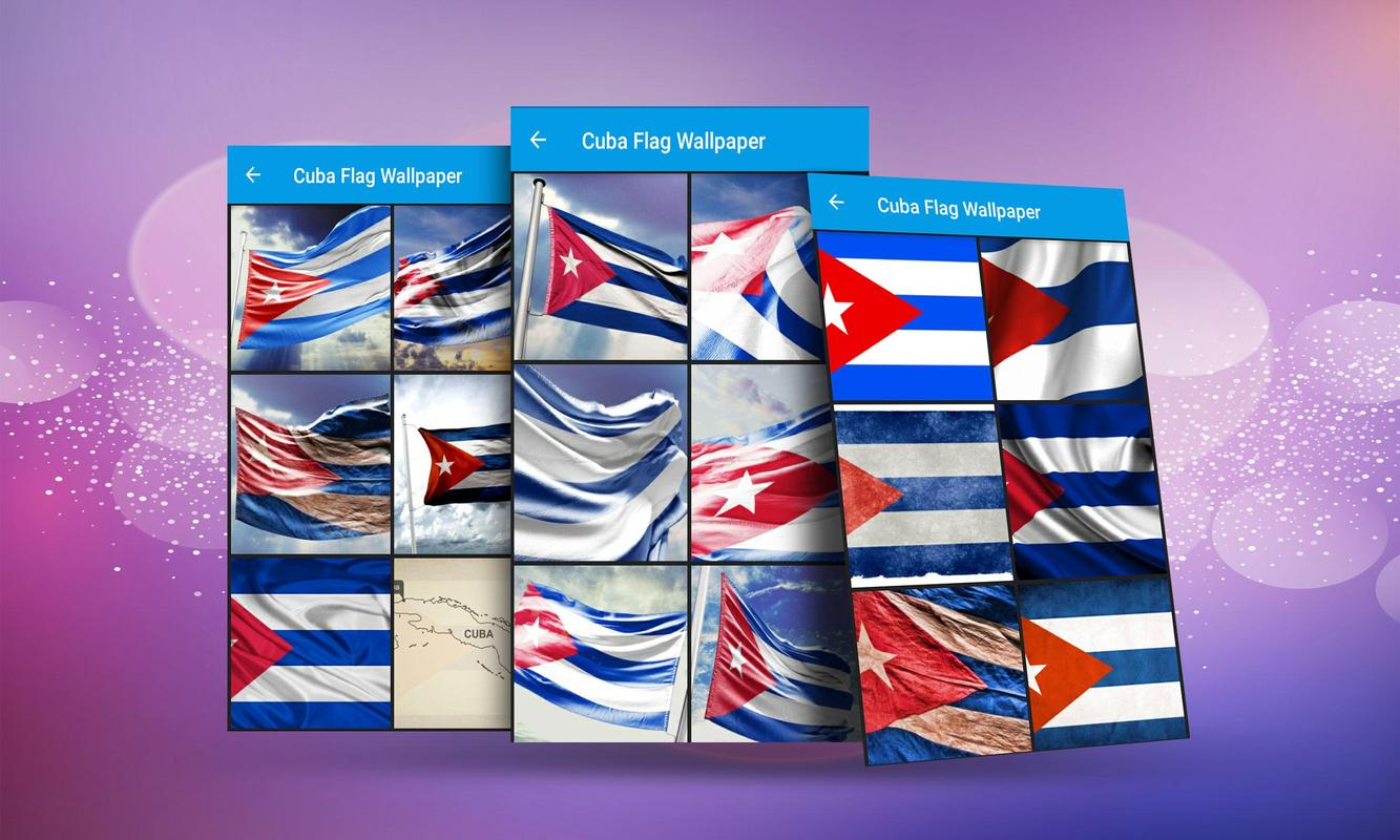Cuba Flag Wallpaper Screenshot 2
