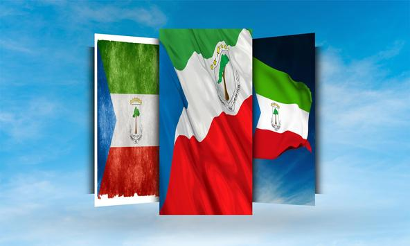 Equatorial Guinea Flag Wallpaper apk screenshot