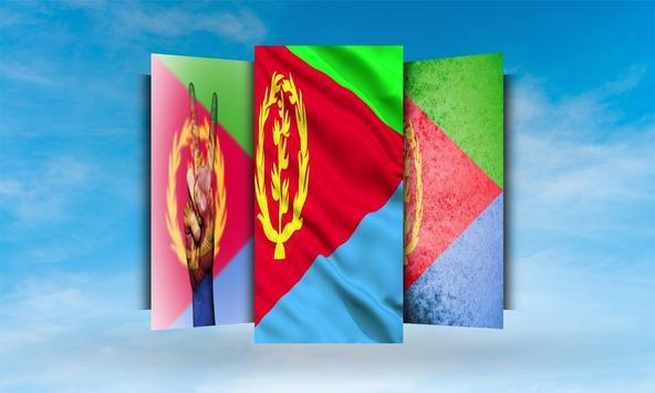 Eritrea Flag Wallpaper screenshot 1
