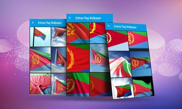 Eritrea Flag Wallpaper screenshot 2