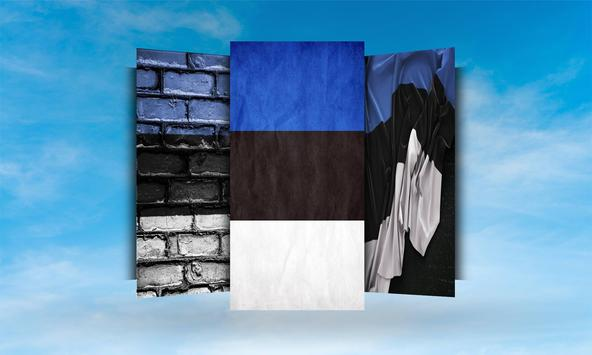 Estonia Flag Wallpaper apk screenshot