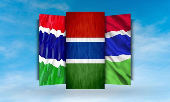 Gambia Flag Wallpaper apk screenshot