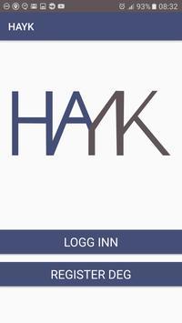 HAYK poster