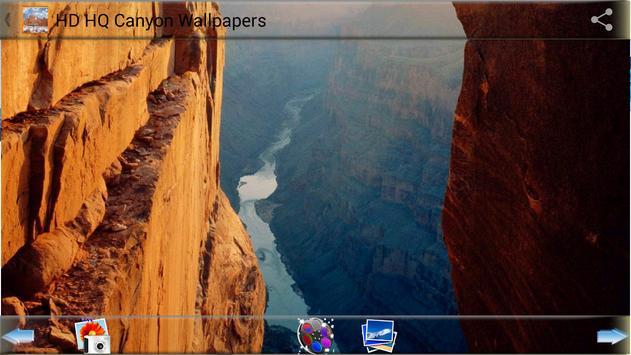 HD HQ Canyon Wallpapers apk screenshot