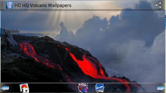 HD HQ Volcano Wallpapers apk screenshot