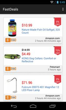 Fast Deals: Top Online Coupons poster