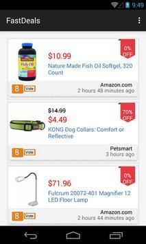 Fast Deals: Top Online Coupons screenshot 2