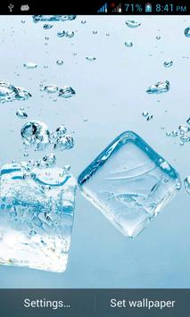 Water Splash Live Wallpaper poster