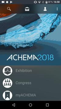 ACHEMA poster