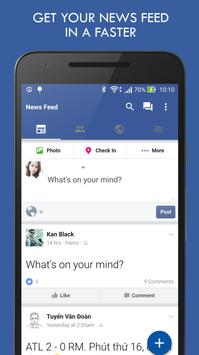 HD Messenger for Facebook poster