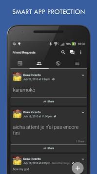 HD Messenger for Facebook screenshot 2