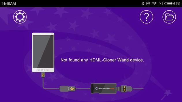 HDML-Cloner Wand Helper Mobile poster