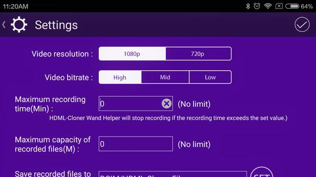 HDML-Cloner Wand Helper Mobile apk screenshot