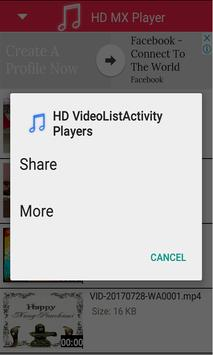 HD MX Player apk screenshot