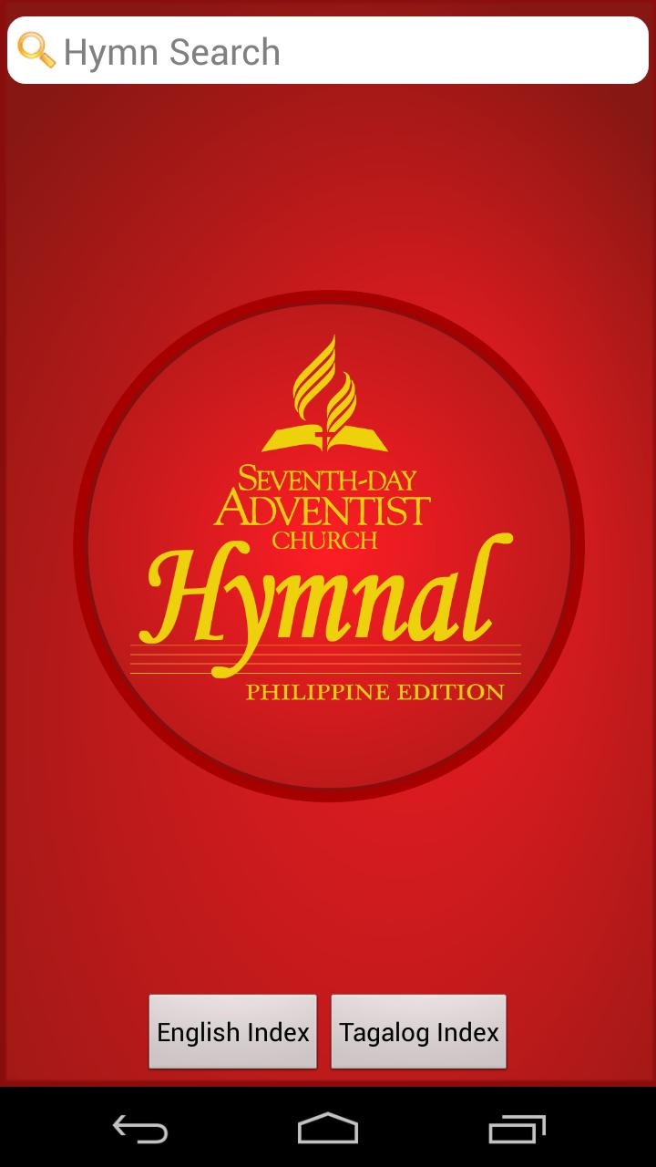 SDA Hymnal: Philippine Edition for Android - APK Download