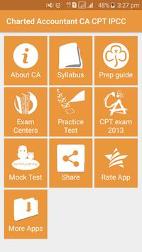 Charted Accountant CA CPT IPCC screenshot 1