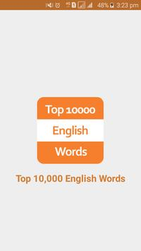 Top 10,000 English Words poster