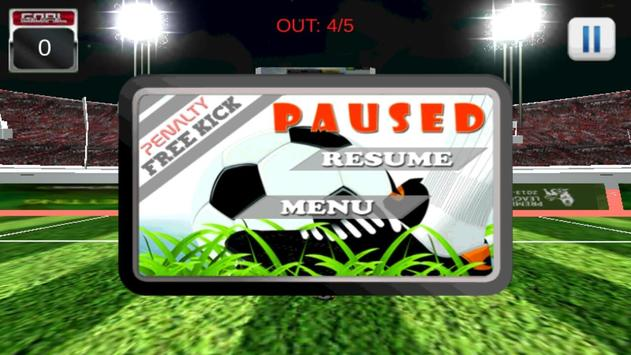 pes penalty kick