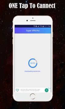 Super VPN Master Free Unblock Unlimited Proxy ZPN screenshot 1