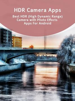 HDR Camera Apps poster