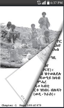 Eritrean History (Tigrigna) poster