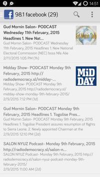 Radio Democracy app screenshot 1
