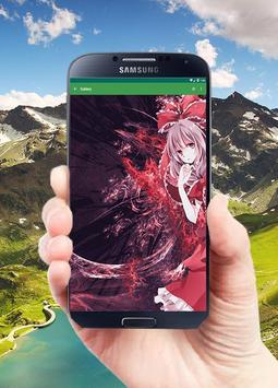 Anime Wallpaper Girl (Gold) screenshot 5