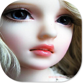 Cute Doll HD Theme icon