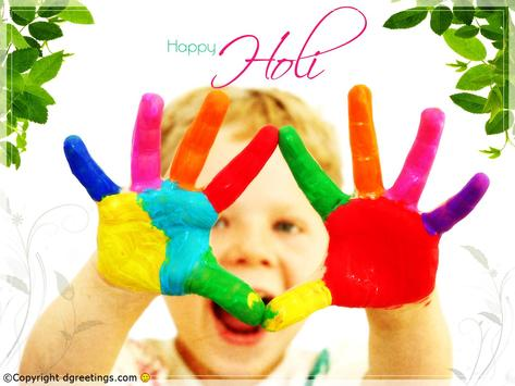 Holi Colorful HD Wallpapers poster