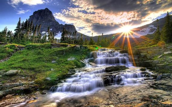 Waterfall Live HD Wallpapers apk screenshot