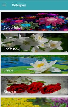 HD Wallpaper Flowers apk screenshot