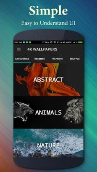 4K Wallpapers स्क्रीनशॉट 1
