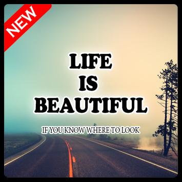 Beautiful Life Quotes HD Wallpapers Poster
