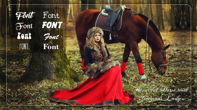 Horse Photo Frames poster
