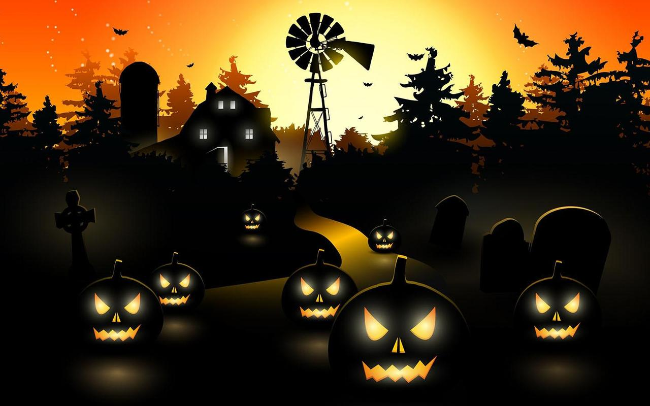 Wallpaper downloader app for android - Halloween Ghost Wallpaper Poster Halloween Ghost Wallpaper Apk Screenshot