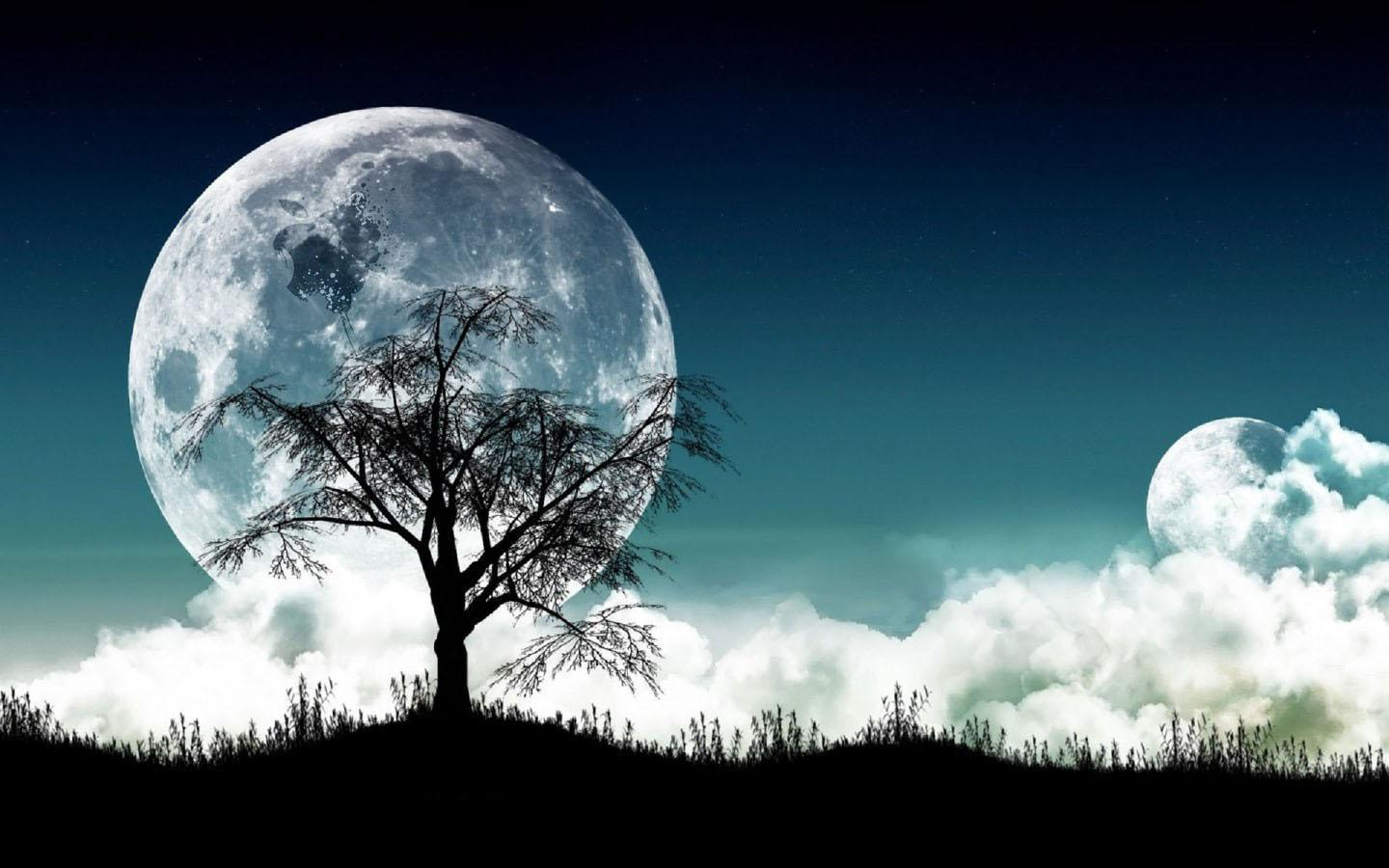 Moonlight Background (40+ pictures)