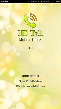 HDTell dialer screenshot 4