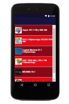 Radio Chilpancingo apk screenshot
