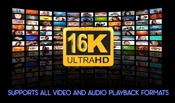 16k Ultra Hd Video Player (16k UHD) 2018 poster