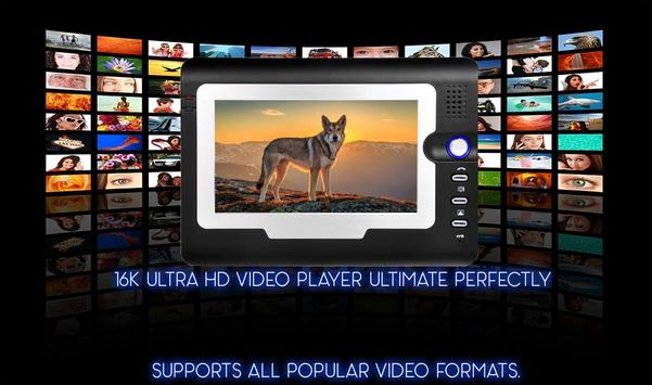 16k Ultra Hd Video Player (16k UHD) 2018 screenshot 1